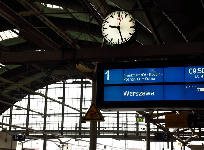 Brève pause en Pologne, mai 2016
