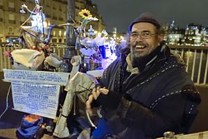 Michel Godin des Mers, artisan poète à Paris
